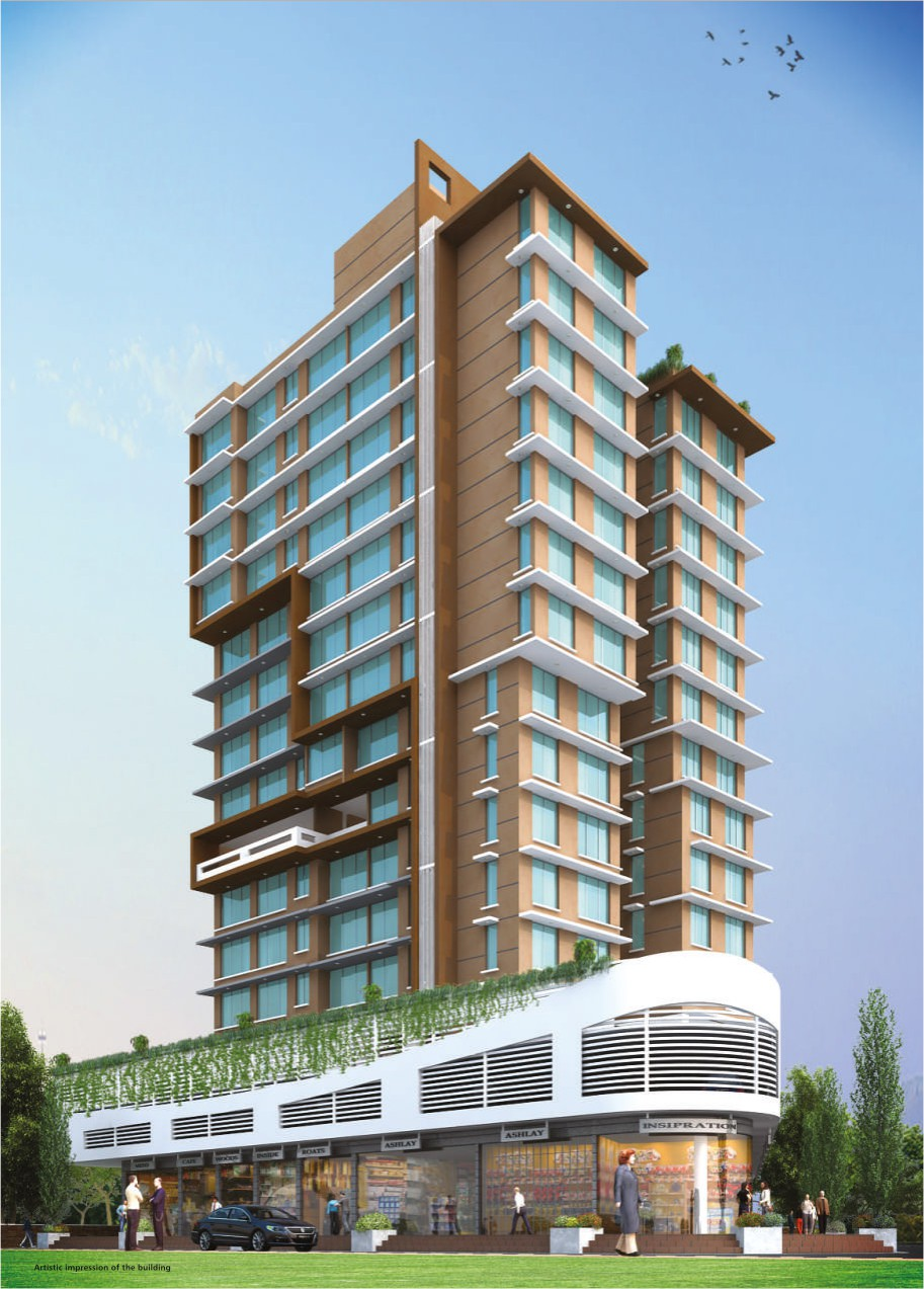 3 BHK Flats & Shops in Borivali West in Greenfield Om Satyam Niwas
