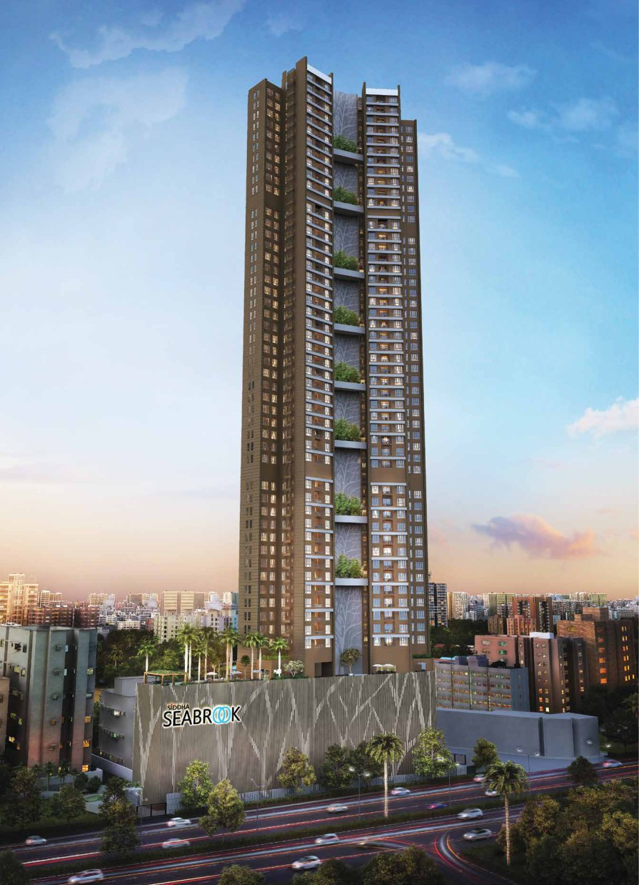 1, 2 & 3 BHK Flats in Kandivali (West), Mumbai in Siddha Seabrook