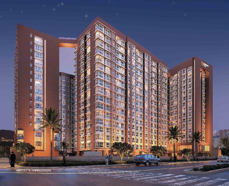 2 & 3 BHK Flats & Shops in DN Nagar, Mumbai Andheri-Dahisar in Platinum Life