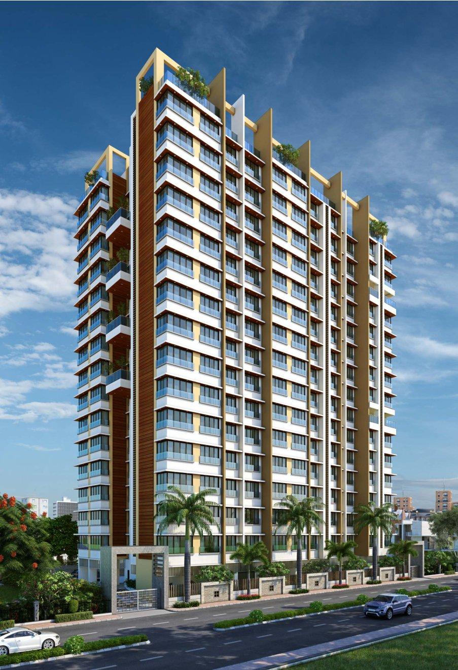 2 BHK Flats & Shops in Chembur East in Kyraa Ariso Apartment