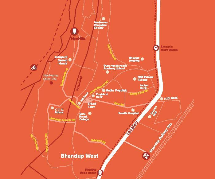 Marathon Neohills Location Map