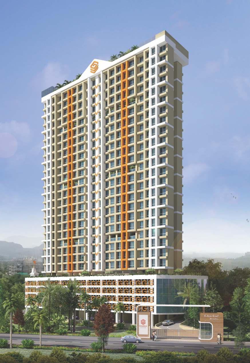 1 & 2 BHK Flats in Bhandup West Mumbai in Gharkul Height - Sqmtrs