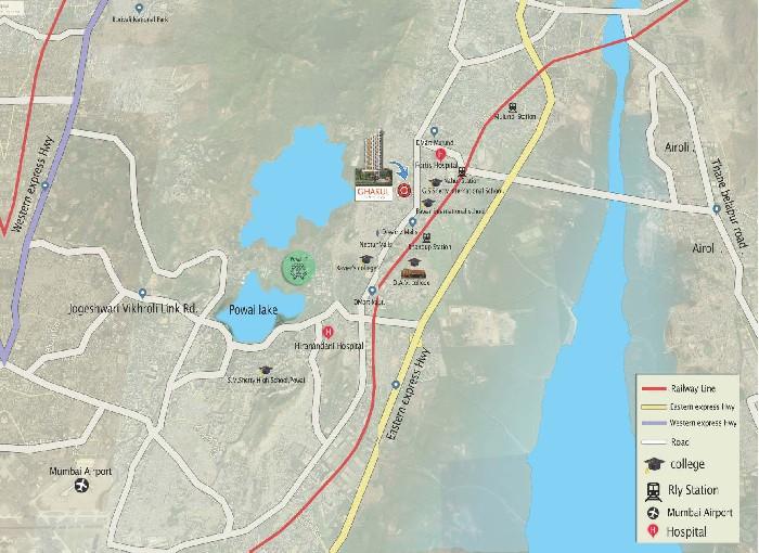 Gharkul Height Location Map