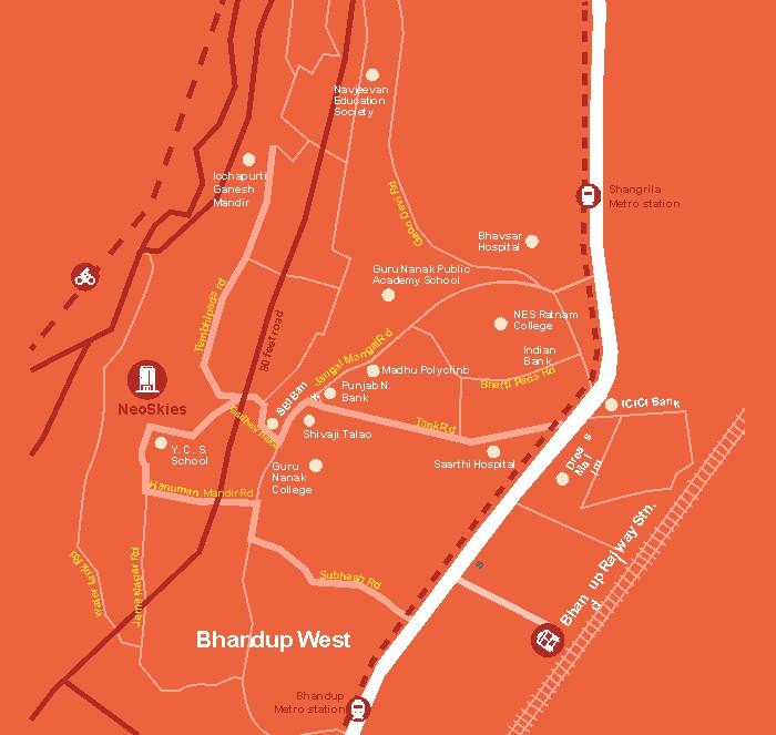 Marathon Neoskies Location Map