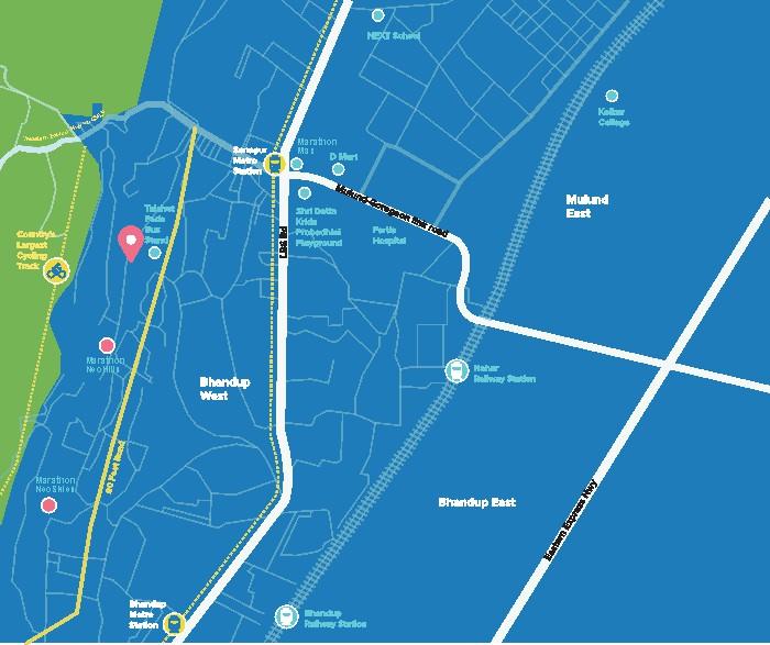 Marathon Neosquare Location Map