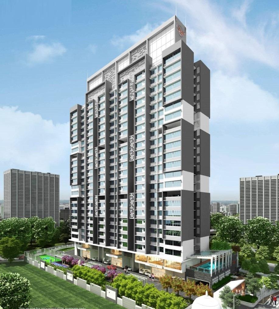 1 & 2 BHK Flats in Bhandup West Mumbai in Srishti Pride - Sqmtrs