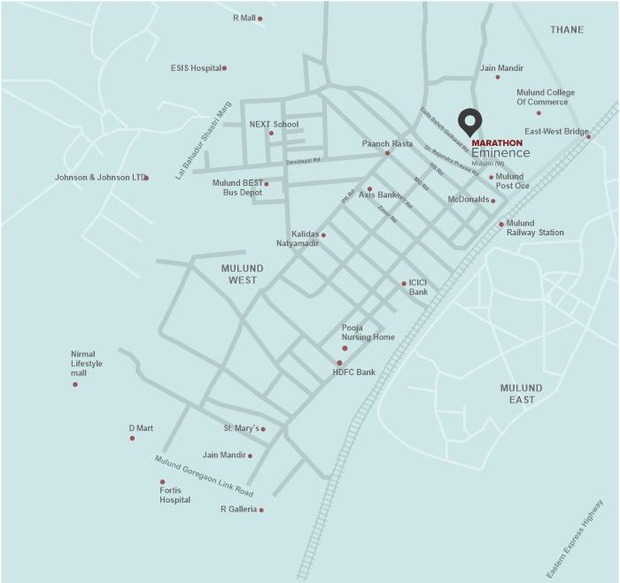 Marathon Eminence Location Map