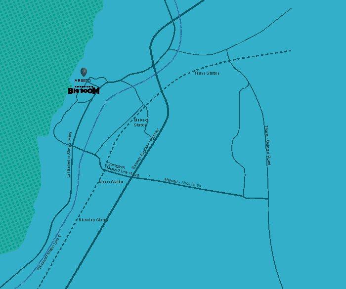 Ariisto Celestia Location Map