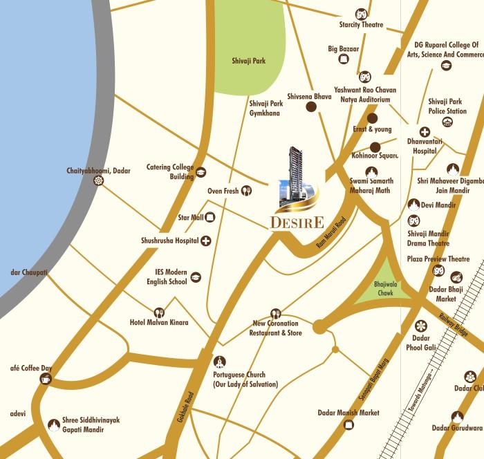 Dotom Desire Location Map