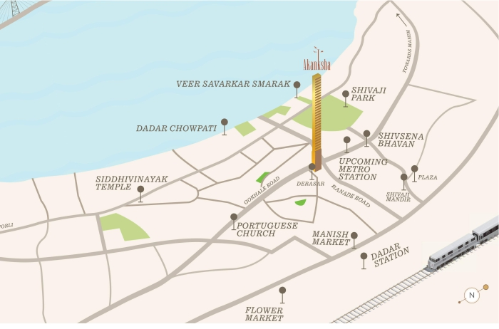 Sugee Akanksha Location Map