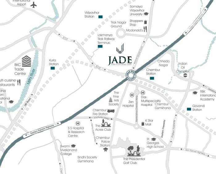 STG Jade Location Map