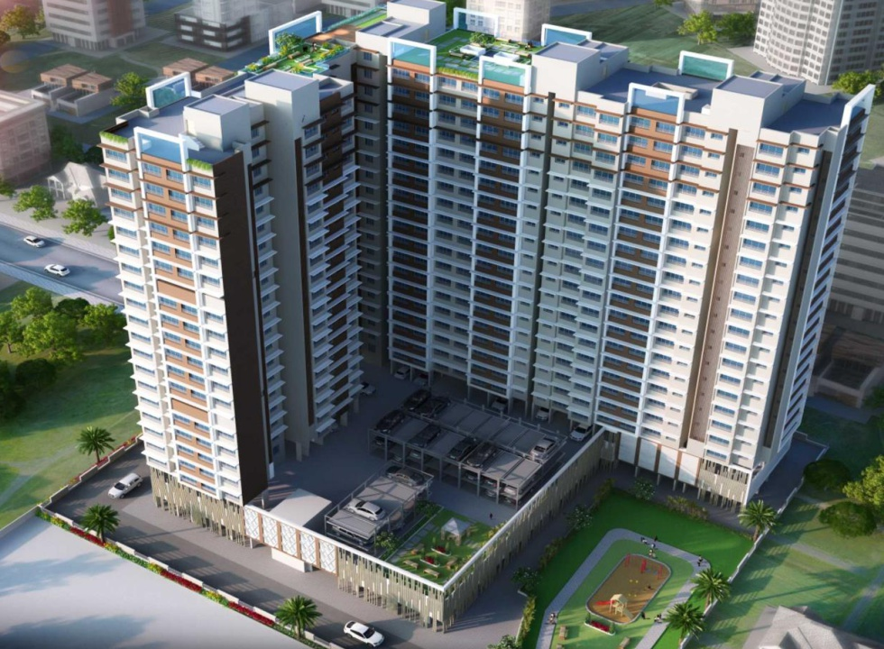2 & 3 BHK Flats & Shops in Chembur East in Safal Trademark