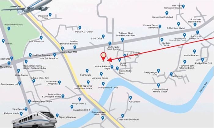 Shree Ram Darshan Location Map