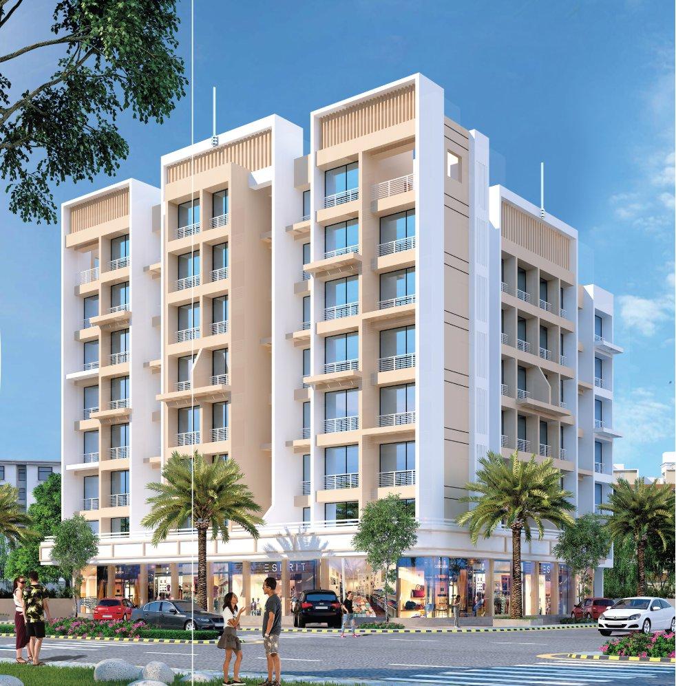 1 & 2 BHK Flats in Karanjade Panvel Navi Mumbai in Bhaveshwar Belleza - Sqmtrs