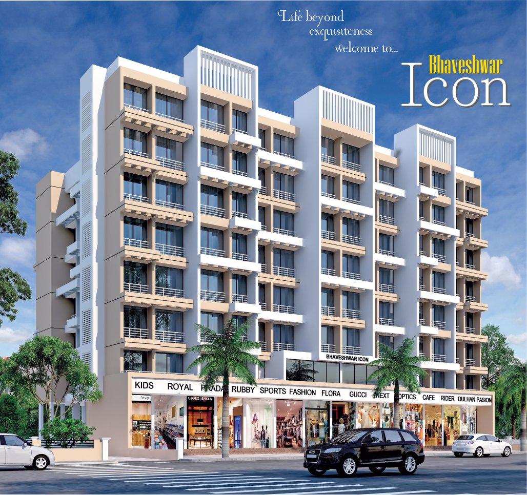 1 & 2 BHK Flats in Karanjade Panvel Navi Mumbai in Bhaveshwar Icon - Sqmtrs