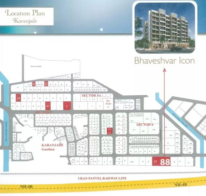 Bhaveshwar Icon Location Map