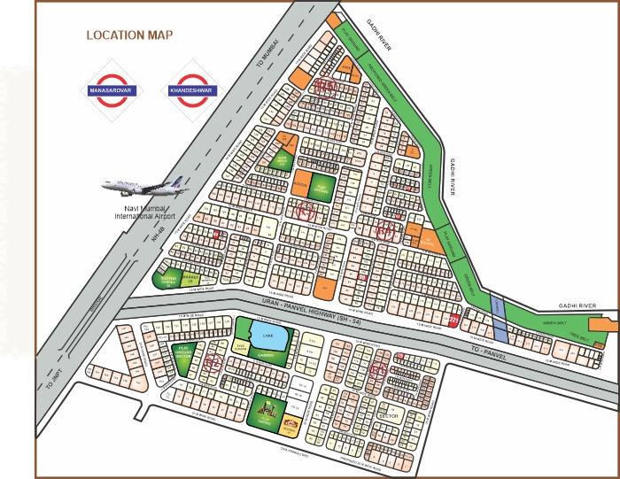 Apex Address Location Map