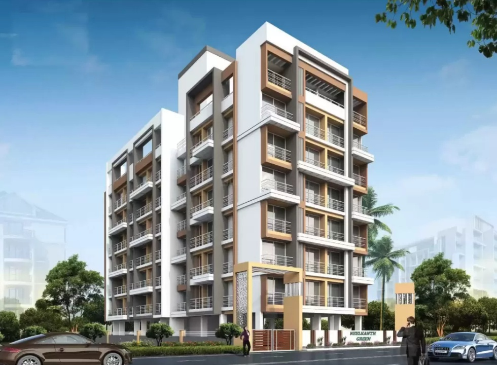 1 & 2 BHK Flats in Kamothe Navi Mumbai in Neelkanth Green - Sqmtrs