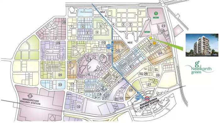 Neelkanth Greens Location Map