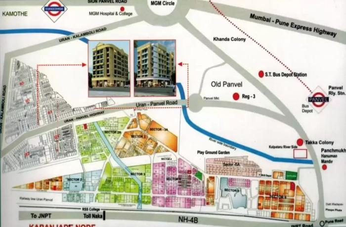 Pratik Heritage Location Map