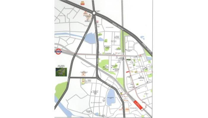 Satyam Pride Location Map