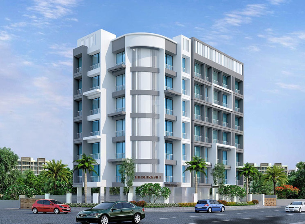 1BHK Flats in New Panvel East Navi Mumbai in Hrishikesh 1 - Sqmtrs