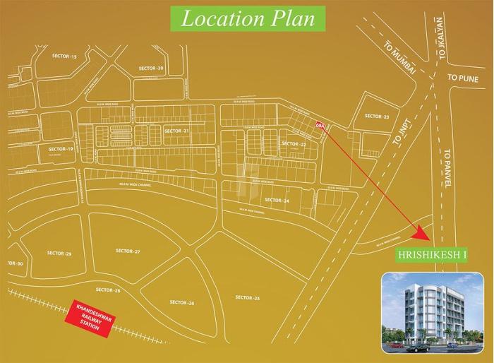Hrishikesh 1 Location Map