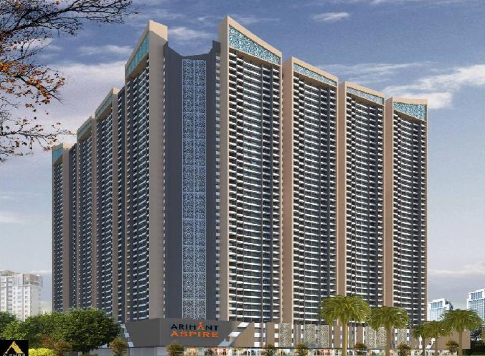 Studio & 2 BHK Flats in Panvel, Navi Mumbai in Arihant Aspire