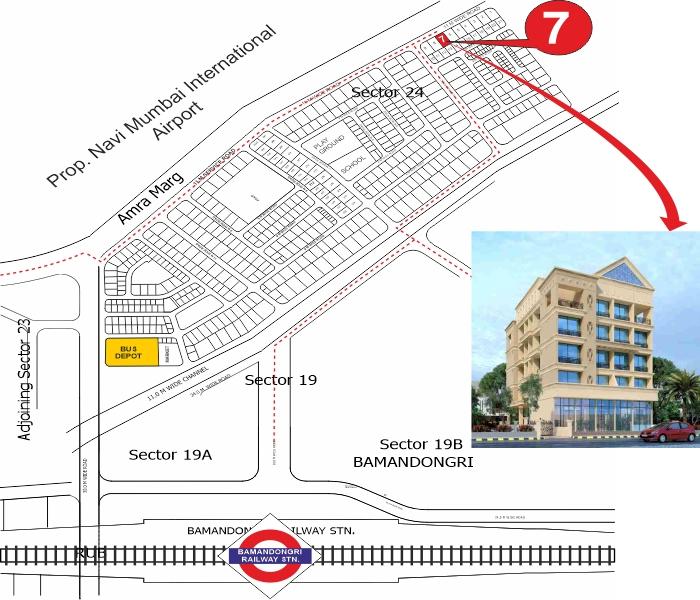 Gamiraj Shagun Location Map