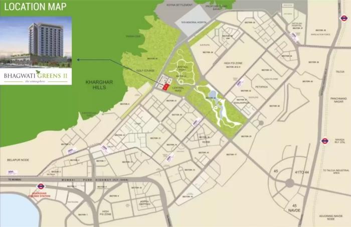 Bhagwati Greens 2 Location Map