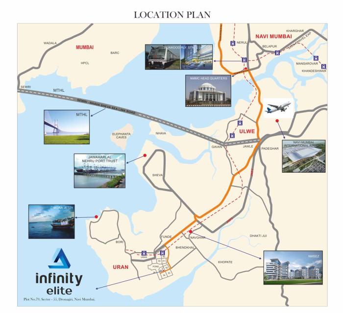Enifinity Elite Location Map