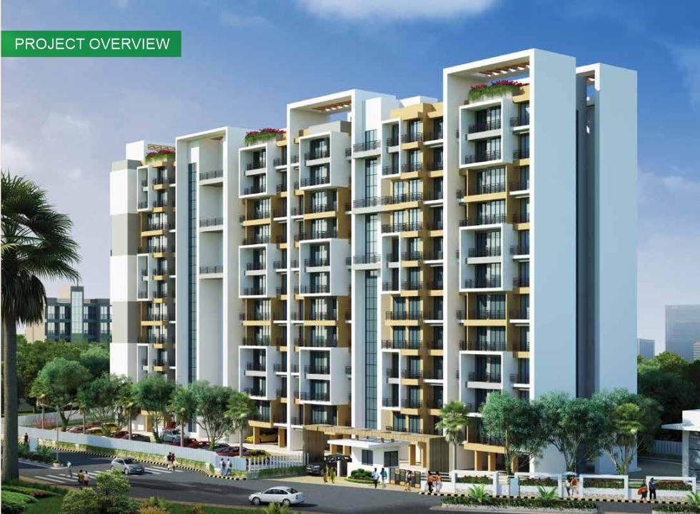 1 & 2 BHK Flats in Panvel, Navi Mumbai in La Mer Residency - Sqmtrs