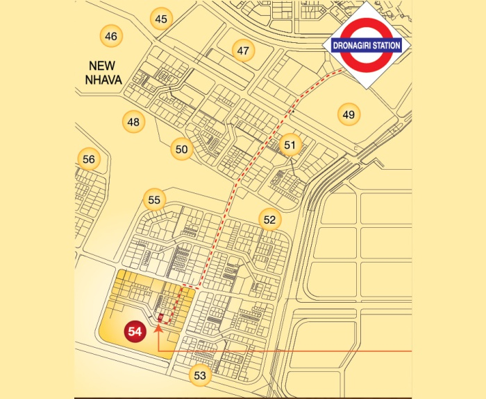 Sai Majestica Location Map