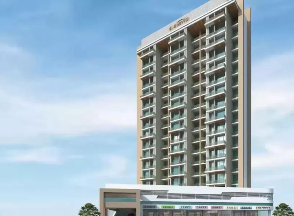 2BHK Flats in Seawoods Navi Mumbai in Aastha Alavio - Sqmtrs