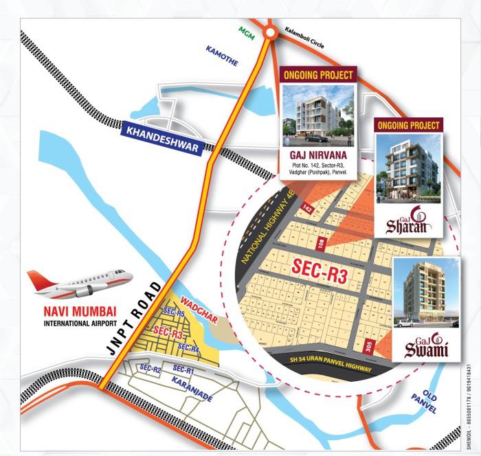 Gaj Swami Location Map