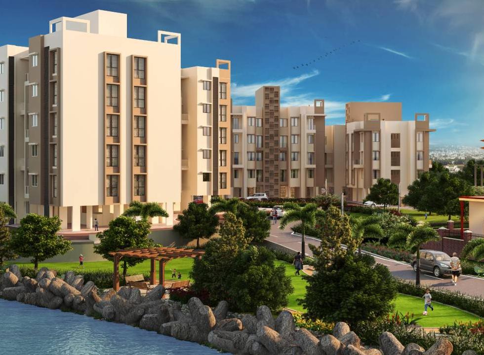 1 & 2 BHK Flats in Panvel Navi Mumbai in Balmac Riverside  - Sqmtrs
