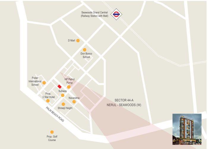 The Signature Location Map
