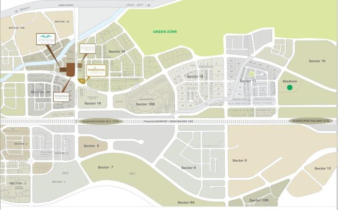Shagun Essentia Location Map