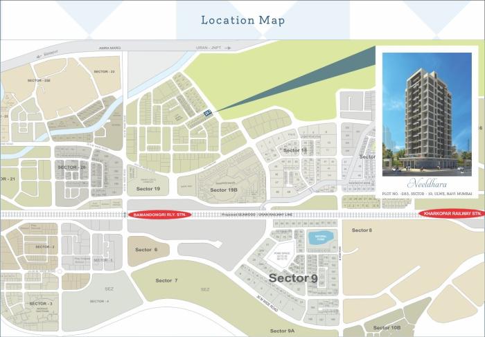 Neelkanth Neeldhara Location Map