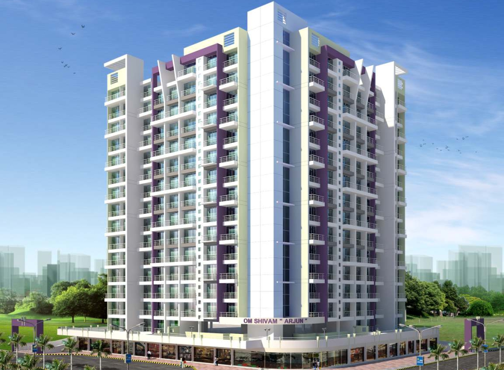 2 BHK and 3 BHK Flats in Kamothe near Panvel Navi Mumbai in Om Shivam Arjun - Sqmtrs