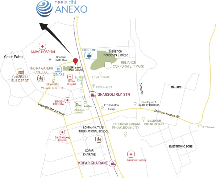 Neelsidhi Anexo Location Map
