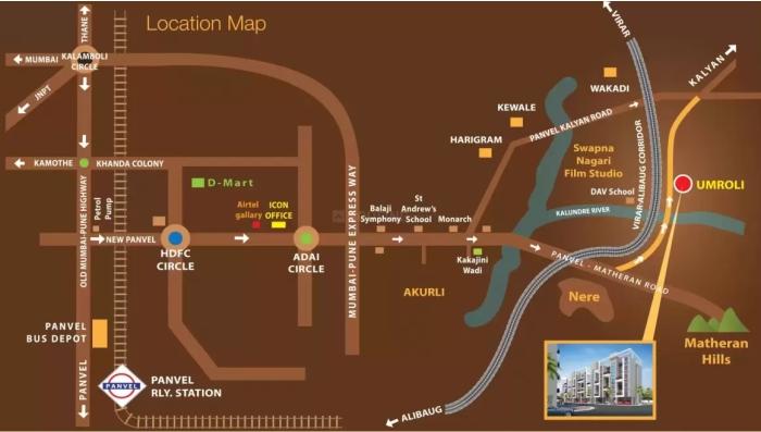 Landmark Heritage Location Map
