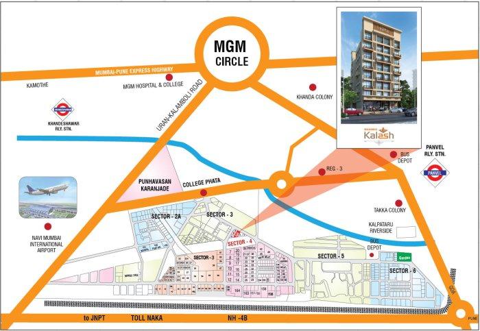 Meghna Kalash Location Map