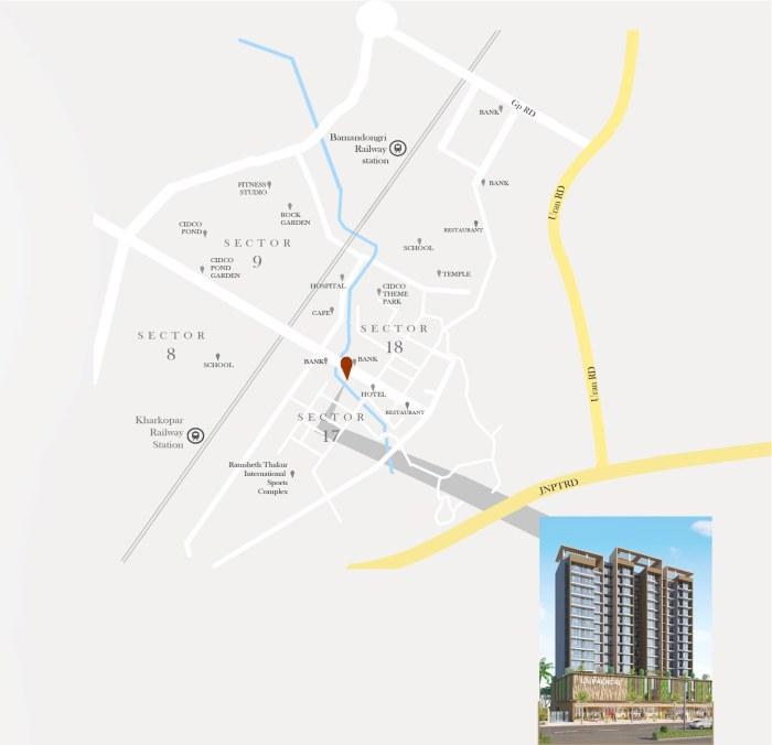 La Palacio Location Map