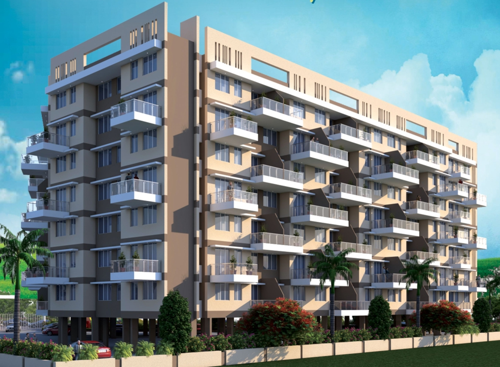 1 BHK Flats in Panvel, Navi Mumbai in Jindal Residency