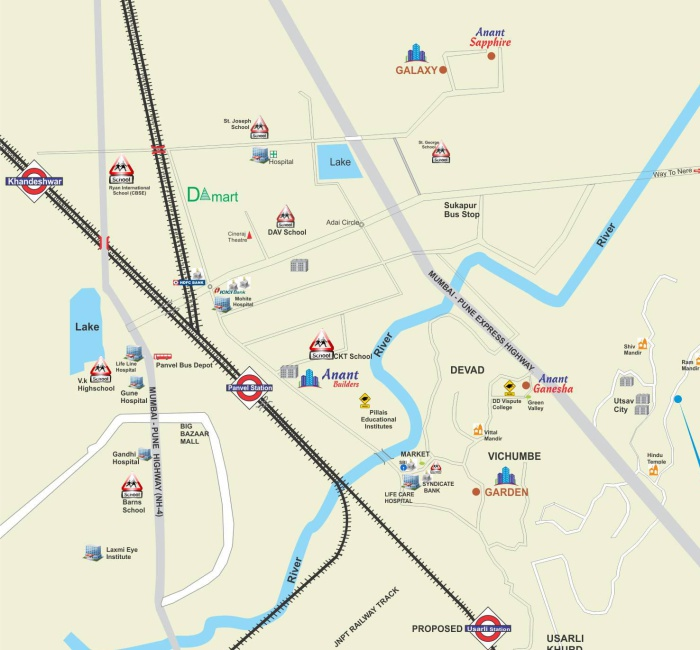 KPS Park Location Map