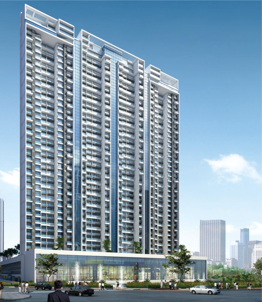 2 & 3BHK Flats in Ghansoli Navi Mumbai in RNA NG Grand Plaza - Sqmtrs