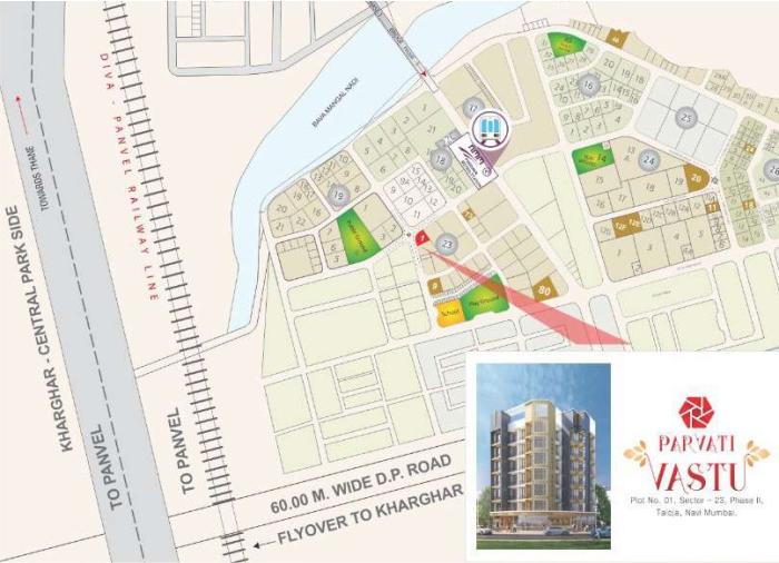 RD Parvati Vastu Location Map