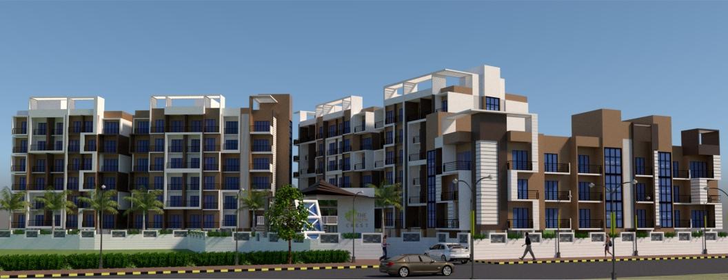 1,2 & 3 BHK Flats & Shops in Taloja , Navi Mumabi  in The Green Crest