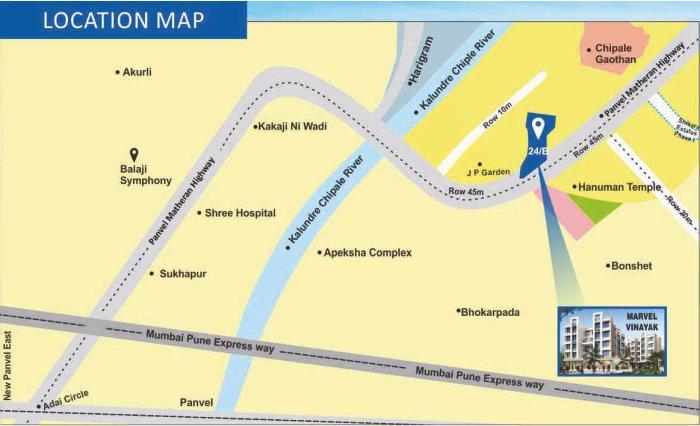 Marvel Vinayak Location Map